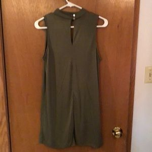 Francesca's Collections Dresses - Army green dress